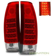 88-98 C/K Full Size/Tahoe/92-94 Blazer/99-00 Escalade Red Clear LED Tail Lights