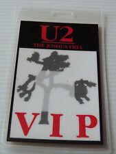 U2 The Joshua Tree Laminated VIP Backstage 1987 Tour Pass