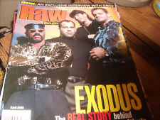 WWF Raw Magazine April 2000 Chris Benoit