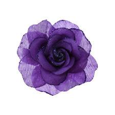 Accessoires de coiffure barrettes violet pour femme