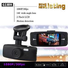 1080P HD CAR Dash Cam Vehicle Video Camera Recorder DVR G-sensor Night View G1WH