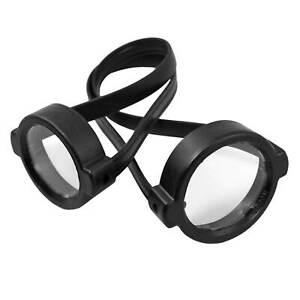 WEGU Zielfernrohr-Schutzkappen mit Klarsichtdeckel