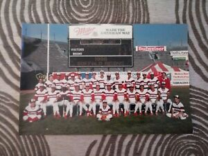 "Vintage Buffalo Bisons 1986 Team Photo / Picture - 12""x8"" - Buffalo, NY Baseball"