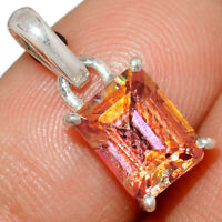 Exoctic Ecstasy Topaz 925 Sterling Silver Pendant Jewelry AP226259 XGB