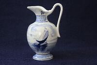 Altes Milchkännchen Sahnekännchen Blau Delfts - Keramik handgemalt Handarbeit