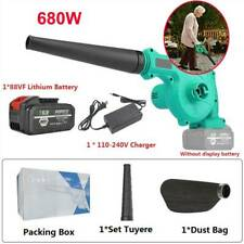 Cordless Leaf Blower -for KIMO 220V 2-in-1 Sweeper/Vacuum 2.0 AH Battery