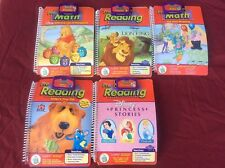 Lot Leap Frog Leap Pad Pre-Math & Reading Interactive Book & Game Cartridge
