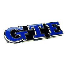 "original Schriftzug Emblem ""GTE"" für Kühlergrill Grill VW Golf 7 VII GTE Neu/OVP"