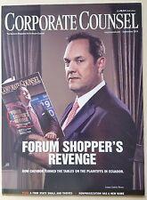 Chevron Forum Shopper Corporate Counsel September 2014