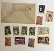 Lot of 12 Portugal Territory Mail Stamps - Cabo Verde & Angola (Cancelled)