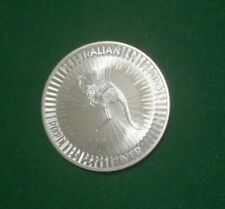 2020 Australian 1oz 9999 Fine Silver Kangaroo 1 Dollar