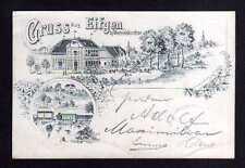 109742 AK Eifgenbach Eifgen bei Wermelskirchen 1897 Federlitho Restauration Gast