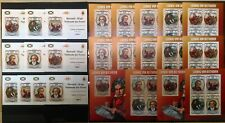 BU IMPERF,PERF 2013 BURUNDI FAMOUS PEOPLE GREAT COMPOSER BEETHOVEN 12BL+12KB MNH