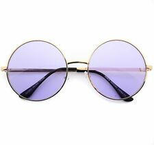 Breeze Sunglasses John Lennon Purple Lens Round Hippie Eye Glasses Retro Glasses