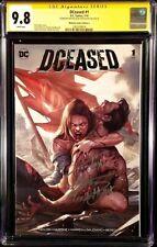 DCEASED #1 CGC SS 9.8 X2 INHYUK LEE VARIANT ZOMBIE BATMAN WONDER WOMAN SUPERMAN