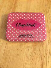 Chapstick Candycane Flavor Lip Balm Tin Limited Edition Candycane Flavor