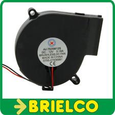 VENTILADOR TIPO TURBINA 12VDC 0.18A 75X33MM PORTATIL CONEC MOLEX 2 PINES BD11774