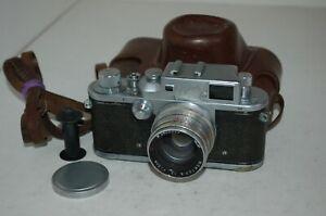 Zorki-3 Vintage 1955 Soviet Rangefinder Camera, Jupiter-8 Lens. 5503200. UK Sale