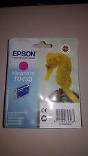 Original Epson T0483 C13T04834010 Tinte magenta neu