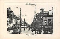 POSTCARD   HAMPSHIRE  SOUTHAMPTON  High  Street