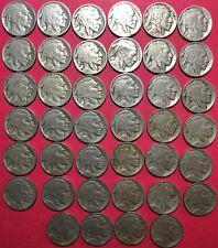 1 roll of 1927-P Buffalo Nickels