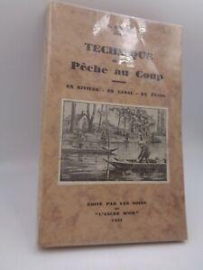 G. Empire : Technique de la pêche au coup  1931