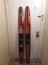 """Vintage...Cypress Gardens...Dick Pope Jr...Wood Water Skis...67 """""""