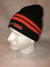 18fa71ba25d4b Oregon State Beavers OS Lightweight Black Orange Nike Cap Hat Beanie One SZ  EUC