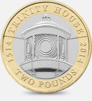 2014 £2 TRINITY HOUSE 500YRS ANNIVERSARY TWO POUND COIN HUNT 29/32 RARE 2 zz
