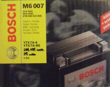 Bosch M6 007 Motorradbatterie Batterie 6AH  Suzuki Yamaha MBK YTX7A-4  YTX7A-BS