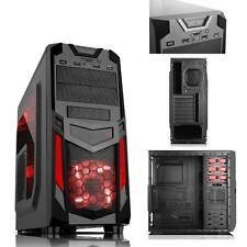 ITEK CASE INVADER R03 GAMING MIDDLE TOWER USB 3.0 12 CM ROSSO FAN ODD HDD KIT TR