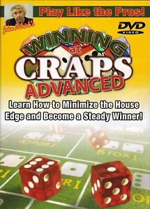 Play Like the Pros! John Patrick Winning at Craps Advanced DVD Video Sealed New