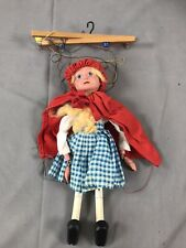Vintage Pelham Puppet of Red Riding Hood. Full Working Order.