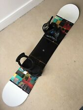 Top of The Line K2 Slayblade 160cm Snowboard, Burton Re-flex Bindings, board bag