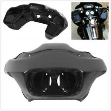 Vivid Black Injection Outer & Inner Fairing Fit For Harley FLTR Road Glide 98-13