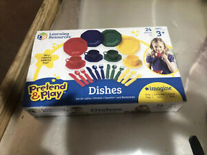 Learning Resources Pretend And Play Dishes