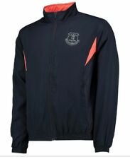 Everton FC Sport Chándal Para Hombre XXXL Top Fútbol Chaqueta de pista Tejido 3XL am