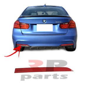 FOR BMW 3 SERIES F30 F31 M-PACKAGE 12-17 REAR BUMPER RED REFLECTOR LEFT N/S