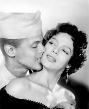 Harry Belafonte and Dorothy Dandridge UNSIGNED photo - B2618 - Carmen Jones