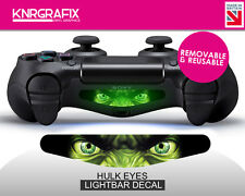 KNR2298 HULK EYES | Dualshock 4 PS4 Lightbar Light Bar Decal DS4