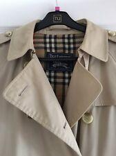 ladies burberry trench coat Size 12