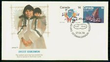 MayfairStamps Canada Fdc 1978 Inuit Eskimos Fleetwood First Day Cover Wwf96857