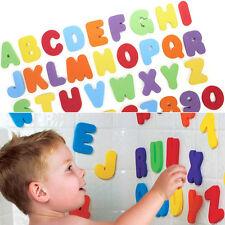 36Pcs Jouet Bain Enfant Bébé Lettre Alphabet Mousse Baignoire Flottant Educatif