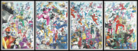 MIGHTY MORPHIN #1 2 & POWER RANGERS #1 2 CONNECTING VARIANT SET 2020 NM- NM