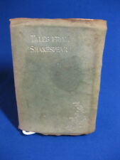 Tales from Shakespeare by Charles & Mary Lamb, 1878, leather, Hamlet, Othello,