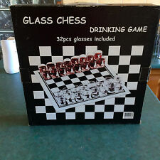 Glass Chess Drinking Game:  ADULTS ONLY