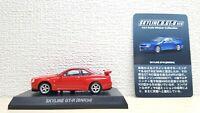 1/64 Kyosho NISSAN SKYLINE R34 BNR34 GT-R RED diecast car model