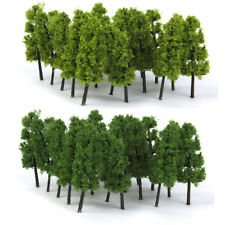 "20 Green Tree Model Train Railway Diorama Building Scenery 3"" N Scale 1 150"