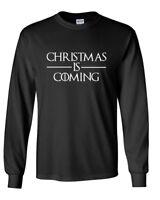 Men's Christmas Is Coming T Shirt Xmas Holiday T-Shirt Tee Funny Gift Present