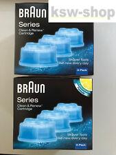 6x Reinigungskartuschen Von Braun CCR Clean & Reneu